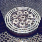 Shower room_pennyround_circular mosaics_2